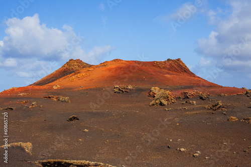 Mountains of fire Timanfaya