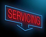 Servicing concept.