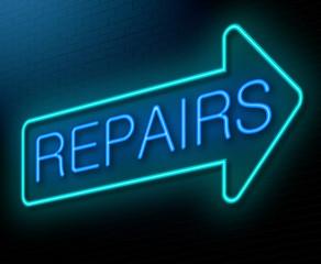 Repairs concept.