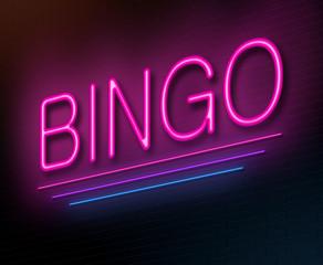 Bingo concept.