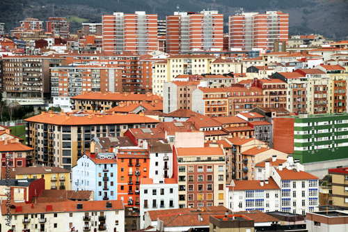 canvas print picture Bilbao