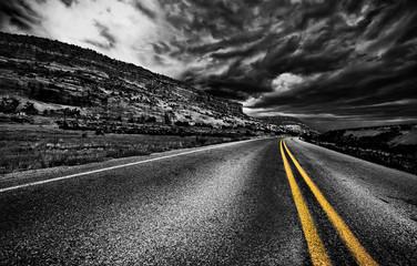 Rural road, USA