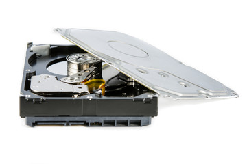 Hard disk drive (HDD) dismantle isolated