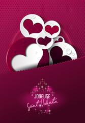 fond joyeuse st valentin