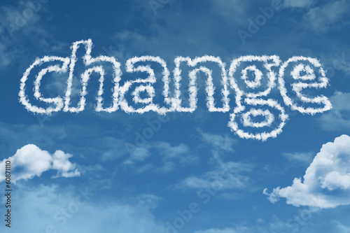 Change text on clouds