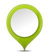 Button grün rund