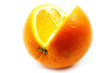 ripe beautiful orange as fruit tropical climate
