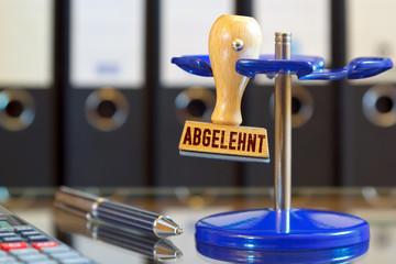 Stempel - ABGELEHNT
