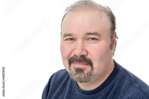 Middle-aged man with a speculative look