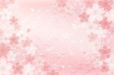 桜 背景 Shabby chic Cherry blossom background