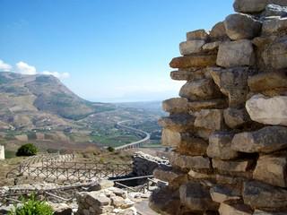 Greek ruins in Sicilia , Italy