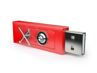 flash drive with a lock