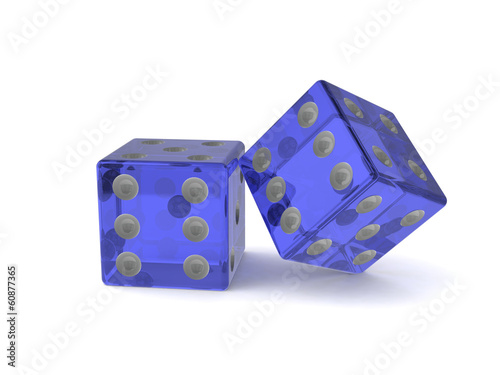 Dice 3d background