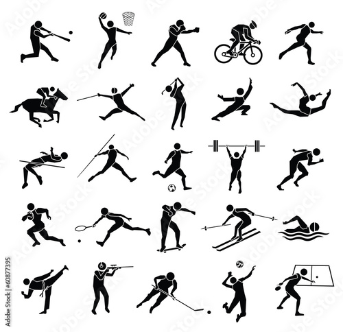 sport icon set - 60877395