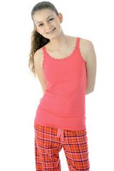 Teenager in Pyjama