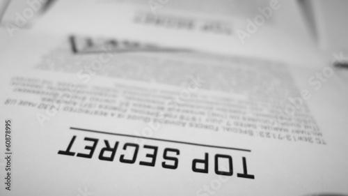 Top secret confidential documents. © klss777