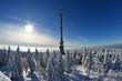canvas print picture - Winter Schnee Wintersport Berge