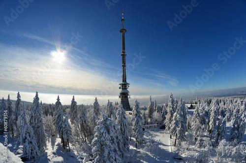 canvas print picture Winter Schnee Wintersport Berge