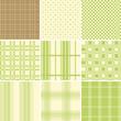 Seamless Set Check Green