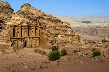 Monastery at Petra, Jordan