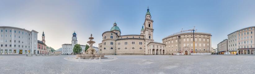 Residenzplatz at Salzburg, Austria