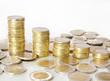 Euromünzen Hintergrund