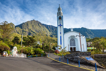 Church of Cilaos, La Réunion