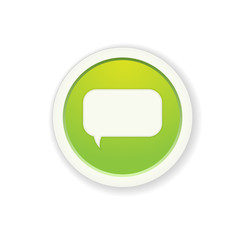 the button with chat icon