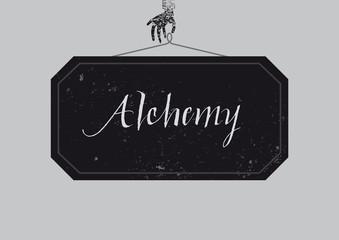 Calligraphic Alchemy poster