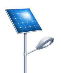 Solar street lamp