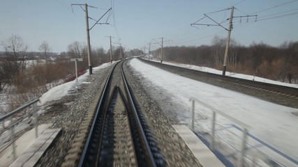 Движение по железной дороге