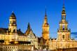 Die Türme von Dresden, Deutschland