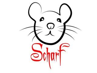 Ratten Scharf Liebe Tribal