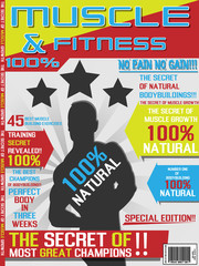 MAGAZINE COVER TEMPLATE BODYBUILDING