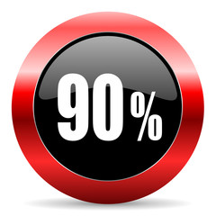 90 percent icon