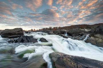 Great Falls Potomac River Sunrise Landscape