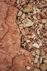 Pebbles and Rock Layers