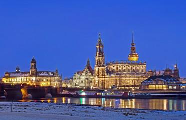 Dresden bei Nacht