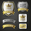 badges high quality gold