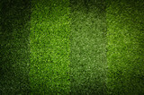 Artificial green grass. Background of soccer field