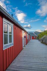 Rorbuer Häuser