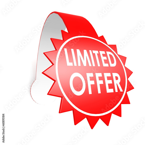 Limited offer star label