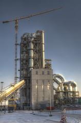 Завод по производству цемента