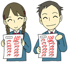 100点中高生
