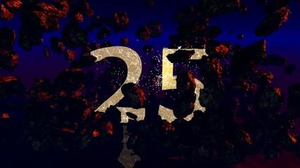 25 Jahre Jubiläum (3d Rendered Artwork)