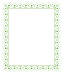 Patrick's day border