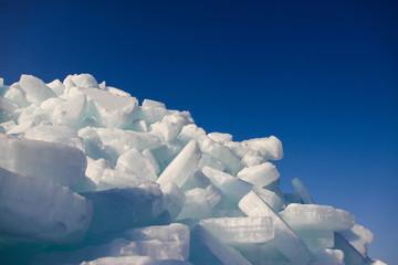 ice and sky.