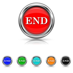 End icon - six colours set