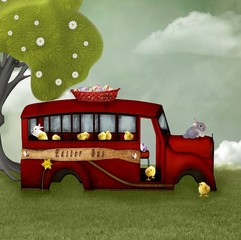 Easter bus