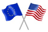 Flags: duet Europe and the USA